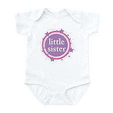 pink & purple little sister Onesie