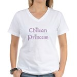 Chilean Princess Women's V-Neck T-Shirt