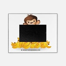 MGB - Monkey Sitting on Pile of Bana Picture Frame