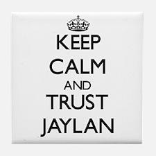 Keep Calm and TRUST Jaylan Tile Coaster