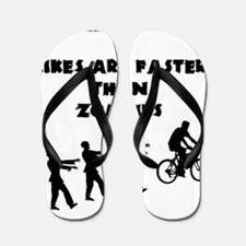 Cycling T-Shirt Design - Bikes are Fast Flip Flops