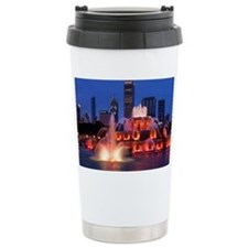 Buckingham Fountain in  Travel Mug