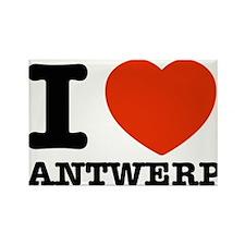I LOVE ANTWERP Rectangle Magnet