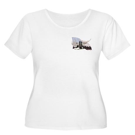 9/11/01 Women's Plus Size Scoop Neck T-Shirt