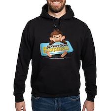 MGB - Monkey Sitting holding Sign -  Hoodie