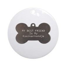 Kooiker Friend Ornament (Round)