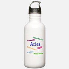 Aries Traits Characteristics Water Bottle