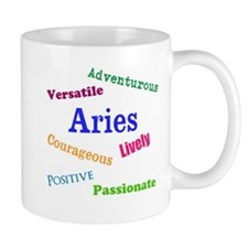 Aries Traits Characteristics Mugs