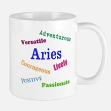 Aries Traits Characteristics Mugs
