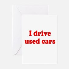 Used Cars Greeting Cards (Pk of 10)