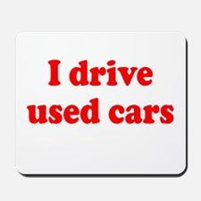 Used Cars Mousepad