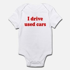 Used Cars Infant Bodysuit