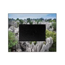 Stone forest, ShiLin, China Picture Frame