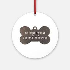 Lagotto Friend Ornament (Round)