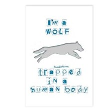 I'm a Wolf Postcards (Package of 8)