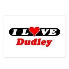 I Love Dudley Postcards (Package of 8)