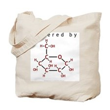 Powered By Glucose Tote Bag