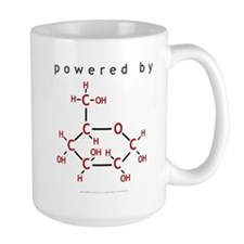 Powered By Glucose Mug