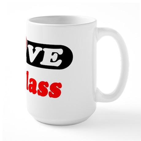 I Love Douglass Large Mug
