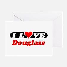 I Love Douglass Greeting Cards (Pk of 10)