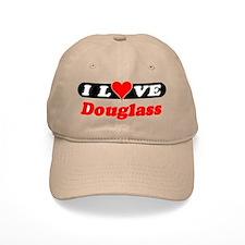 I Love Douglass Baseball Cap