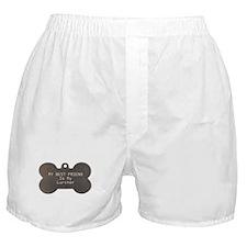 Lurcher Friend Boxer Shorts