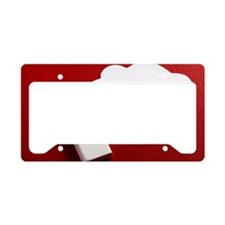 blank concept,bed and speech  License Plate Holder