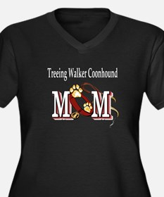 Treeing Walker Coonhound Women's Plus Size V-Neck