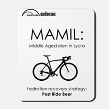 Cycling T Shirt Design - MAMIL (middle a Mousepad