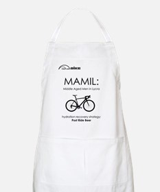 Cycling T Shirt Design - MAMIL (middle aged  Apron