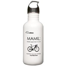 Cycling T Shirt Design Water Bottle