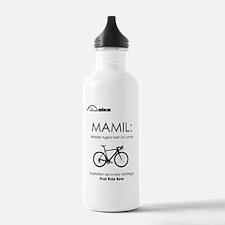 Cycling T Shirt Design Water Bottle