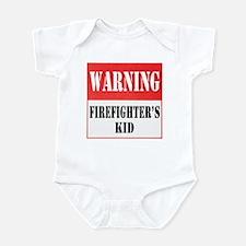 Firefighter Warning-Kid Infant Bodysuit