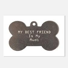 Mudi Friend Postcards (Package of 8)