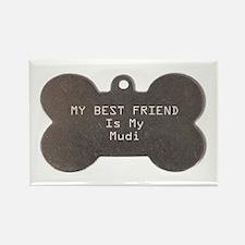 Mudi Friend Rectangle Magnet (100 pack)