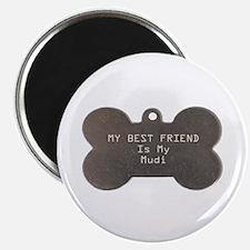 Mudi Friend Magnet