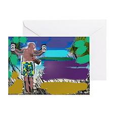 Stranger In Paradise Greeting Card