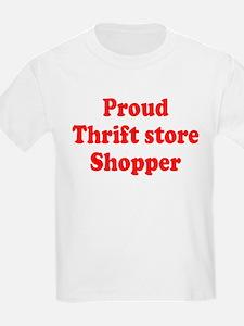 Proud Thrift Store Shopper T-Shirt