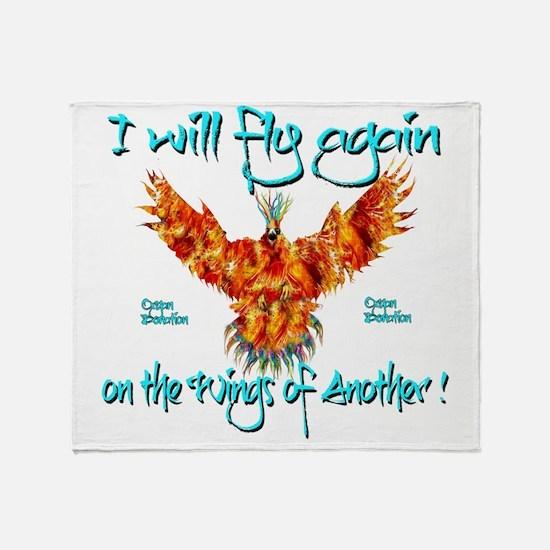 PhoenixOrganDonar Throw Blanket