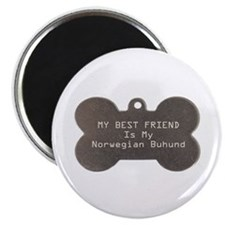 Buhund Friend Magnet