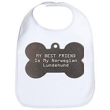 Lundehund Friend Bib
