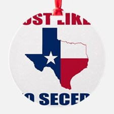 Texas Secession Ornament