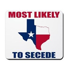 Texas Secession Mousepad