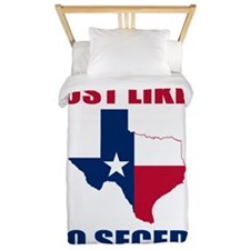 Texas Secession Twin Duvet