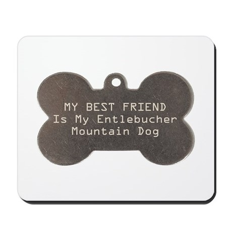 Entlebucher Friend Mousepad