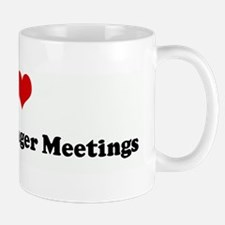 I Love  General Manager Meeti Mug