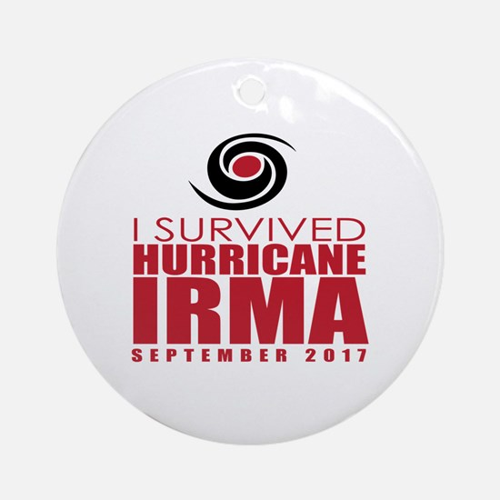 Hurricanes Round Ornament