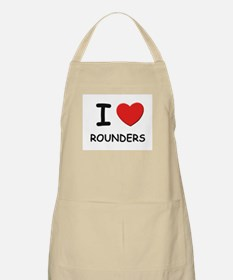 I love rounders  BBQ Apron
