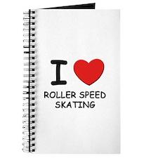 I love roller speed skating Journal