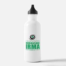 I Survived Hurricane I Water Bottle